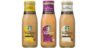 Starbucks Frappucino with a Splash of Cold Bew