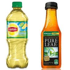 lipton and pure leaf tea