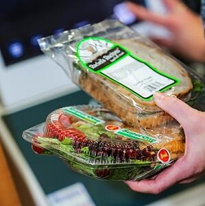 Healthy Vending Choices - Salad and sandwich